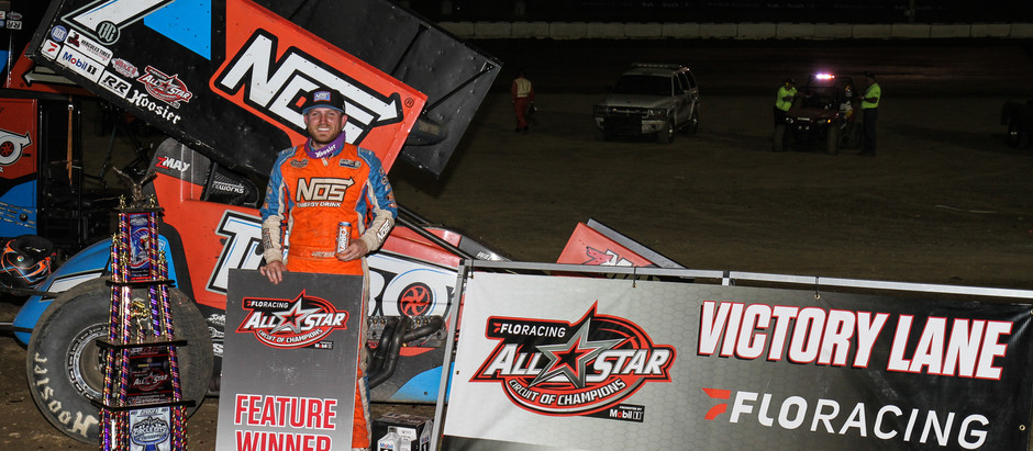 TYLER COURTNEY OPENS ALL STARS INDIANA INVASION WITH WIN AT CIRCLE CITY RACEWAY