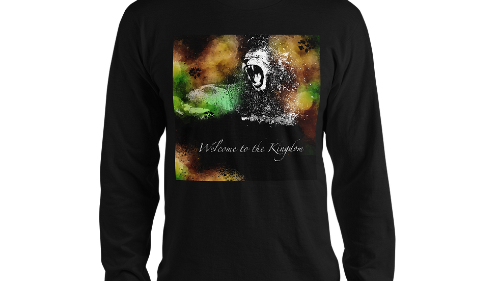 Welcome to the Kingdom Cover Long sleeve t-shirt