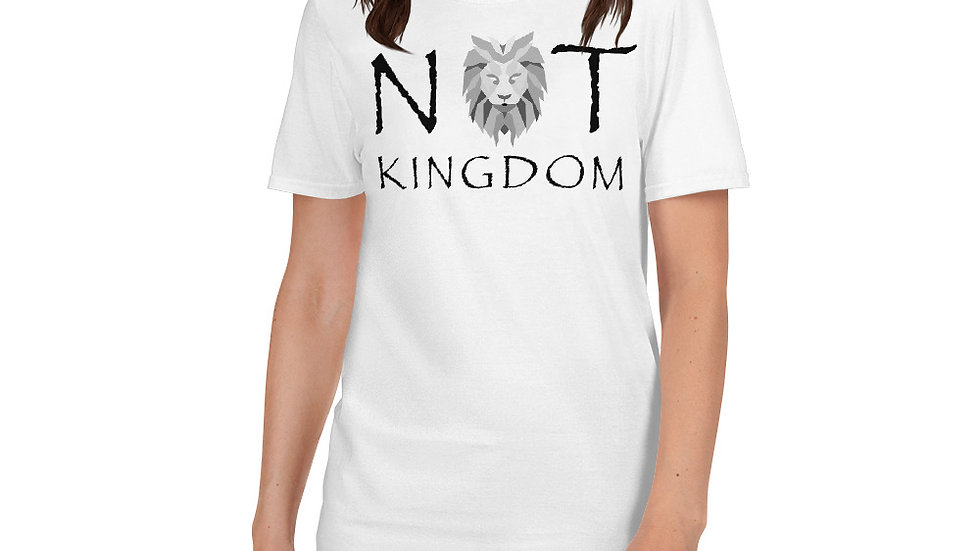Not Kingdom Short-Sleeve Unisex T-Shirt (White)