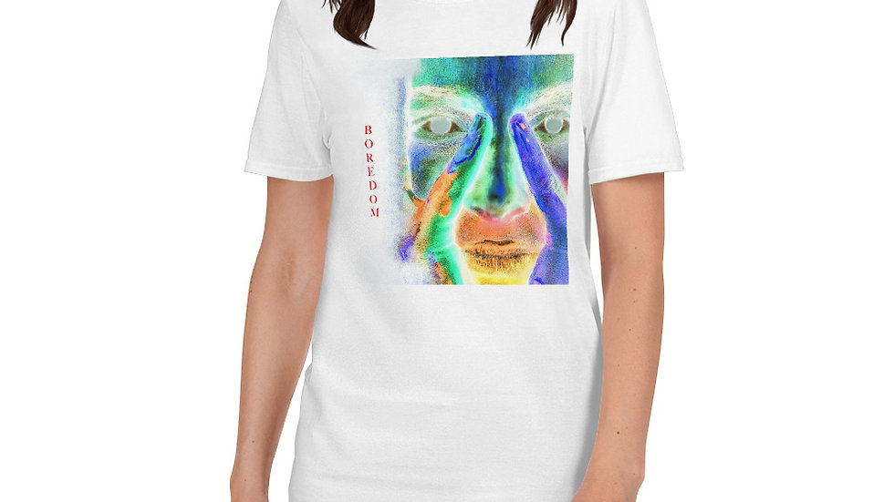 Boredom Cover Short-Sleeve Unisex T-Shirt