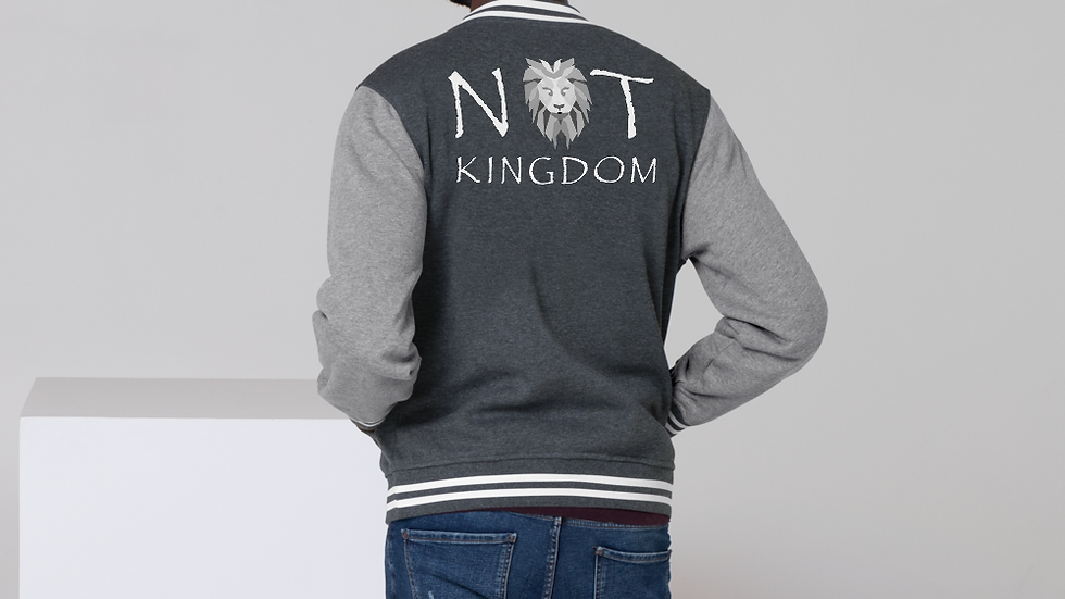 Not Kingdom Letterman Jacket