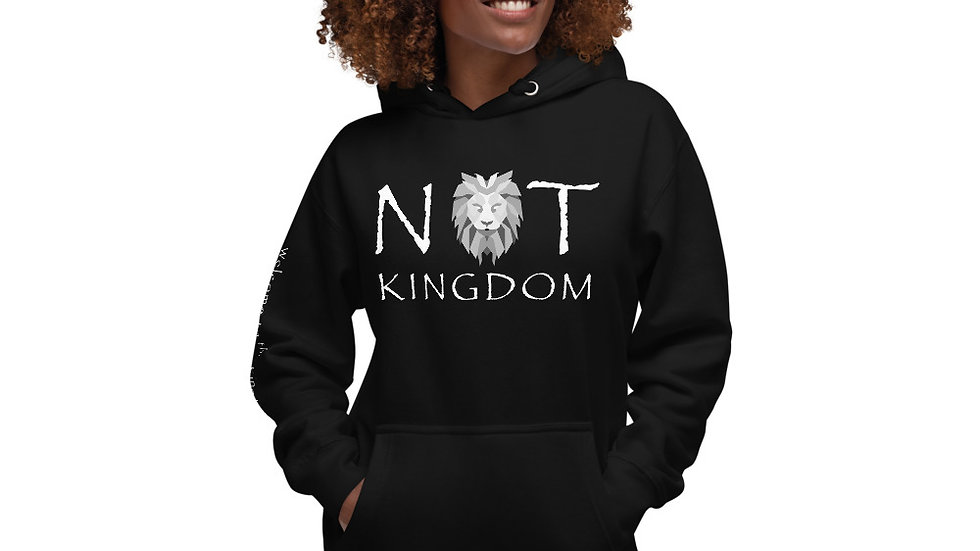 Not Kingdom Unisex Hoodie (Dark)