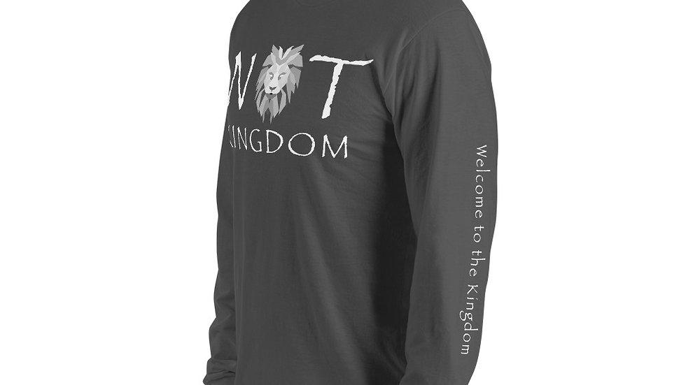 Not Kingdom Logo Long sleeve t-shirt (Dark)