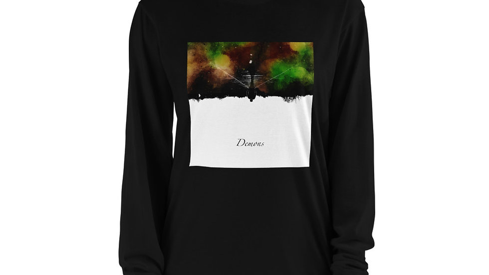Demons Cover Long sleeve t-shirt