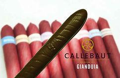 Charuto de Chocolate Maciço Callebaut Gianduia