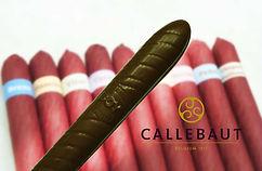 Charuto de Chocolate Maciço Belga Callebaut