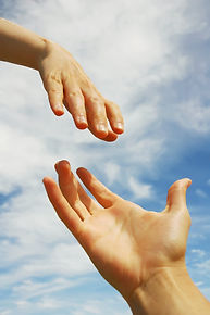 Hands coming together: Professional Supervision/Mentoring