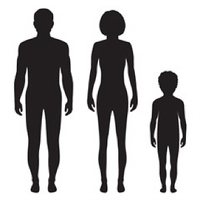 Silhouette humans