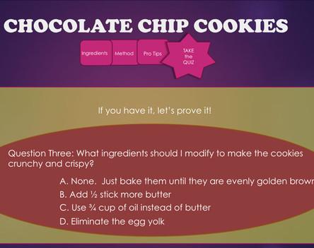 Better Cookie Quiz