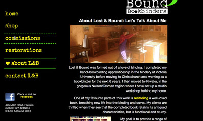 Lost & Bound Bookbinders: About Us