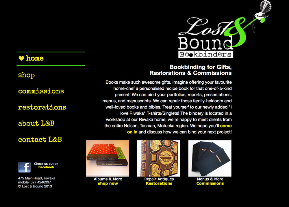 Lost & Bound Bookbinders