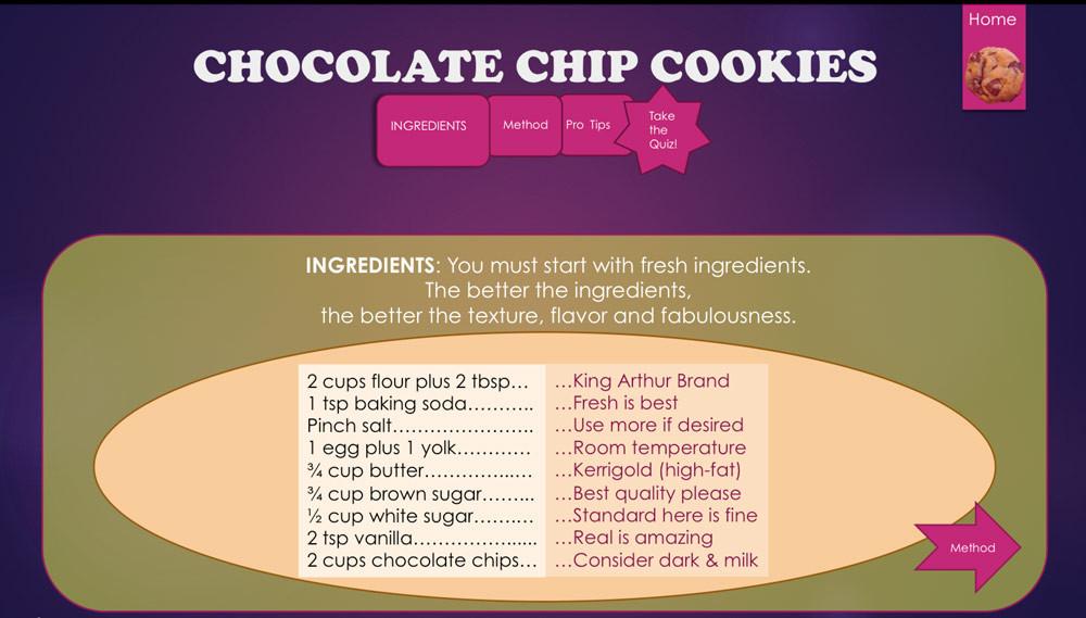 Better Cookie Ingredients