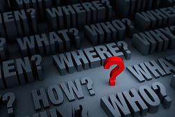 Big red question mark: incident investigation