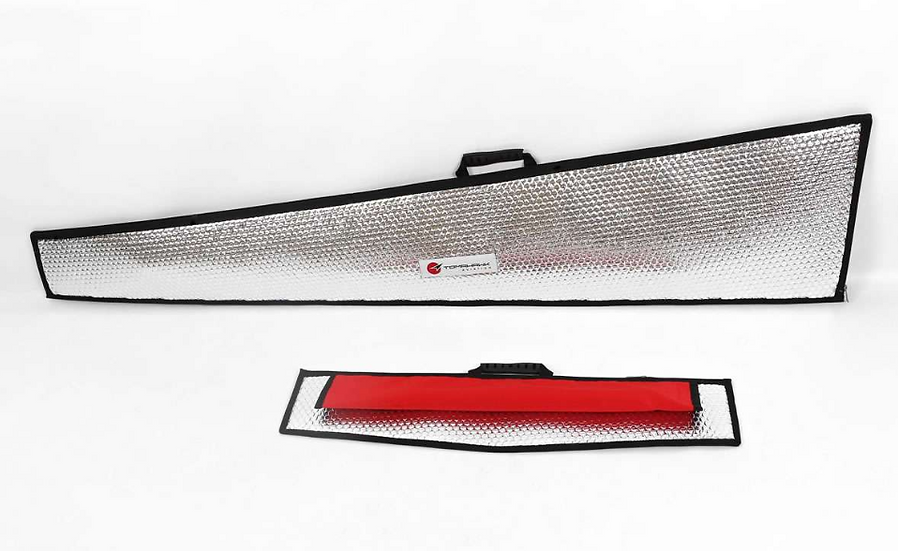 Swift 3,3m wing protection bag set silver