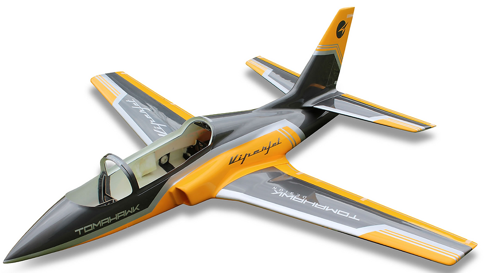 Viper Jet 2.0 m, painted type F yellow combo with Electron retract