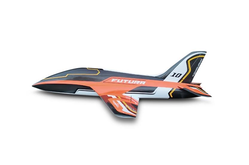 FUTURA 2,5m composite kit painted , type E-orange