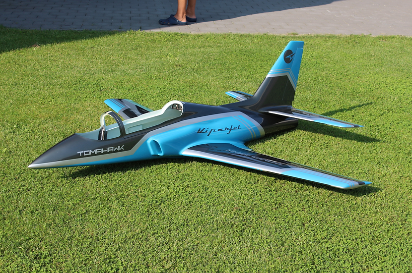 Viper Jet 2.0 m, painted type F petrol combo with Electron retract