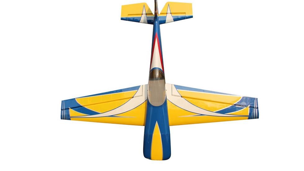 "Pilot RC Laser 73"" (Yellow/Blue)"