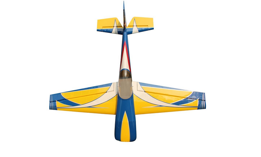 "Pilot RC Laser 88"" (Yellow/Blue)"
