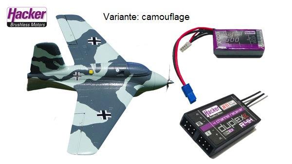 Hacker Me-163 Camo BNF Jeti
