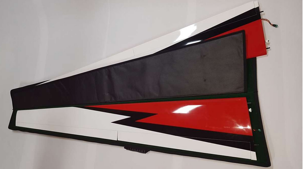 Swift 3,3m wing protection bag set Codura