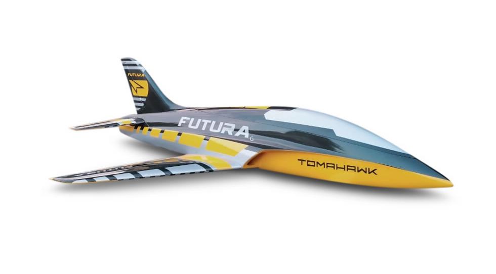 FUTURA 1,9 m full composite kit painted, type G-yellow