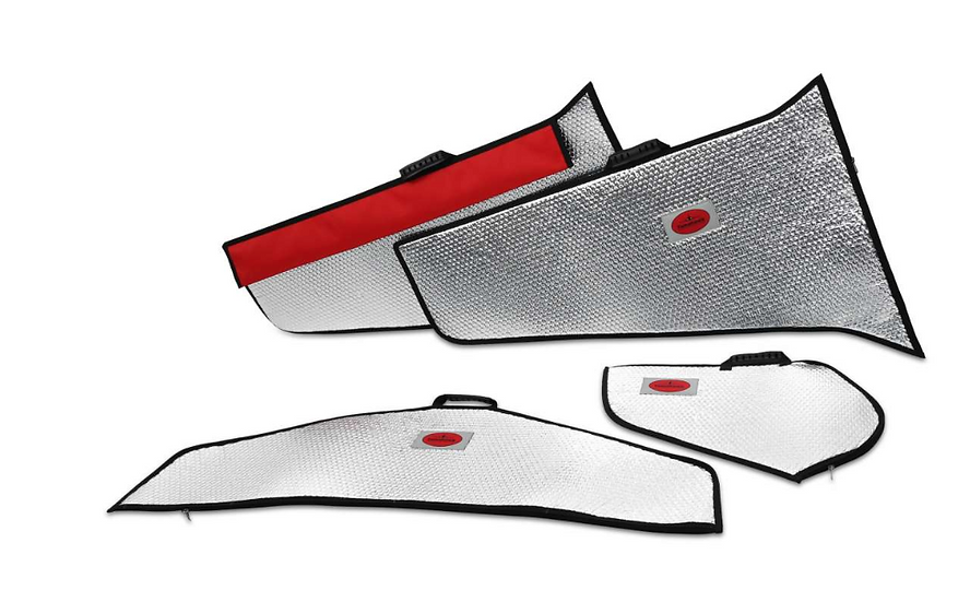 Viper 2,5m wing protection bag set silver