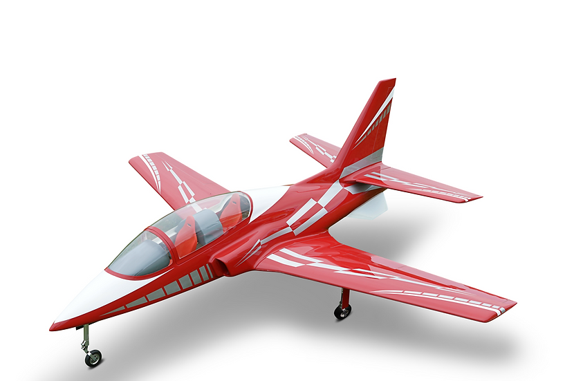Viper Jet 2.0 m full composite kit painted type C dark red