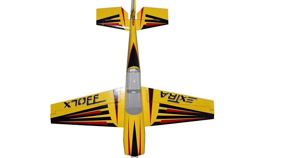 "Pilot RC Extra 330LX 78"" Yellow/Black"