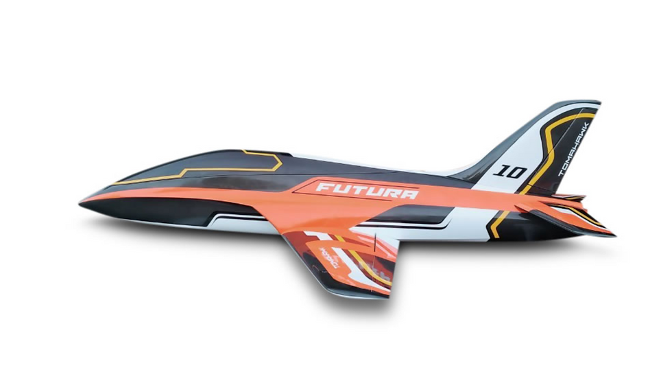 FUTURA 1,9 m full composite kit painted, type E-orange , combo with Electron lan