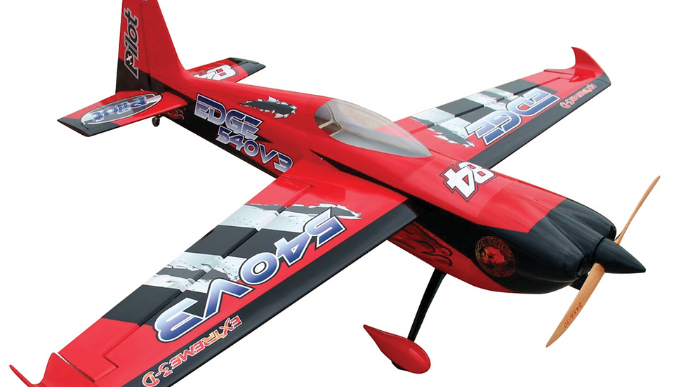 Pilot-RC 26% Edge-540 V3 78in (1.97m) (Red/Black)
