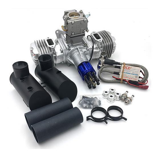 DLE 130  Twin Two-Stroke Petrol Engine