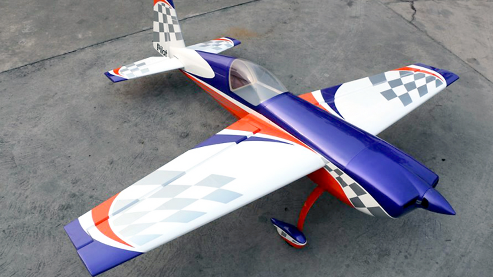 Pilot-RC 25% Extra-330SC 78in (1.98m) (Orange/Purple Checker)