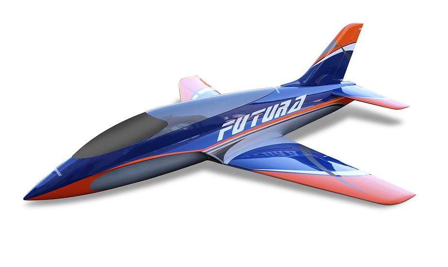 Futura 2,5 m full composite kit type B orange/blue , Combo with Electron e-retra