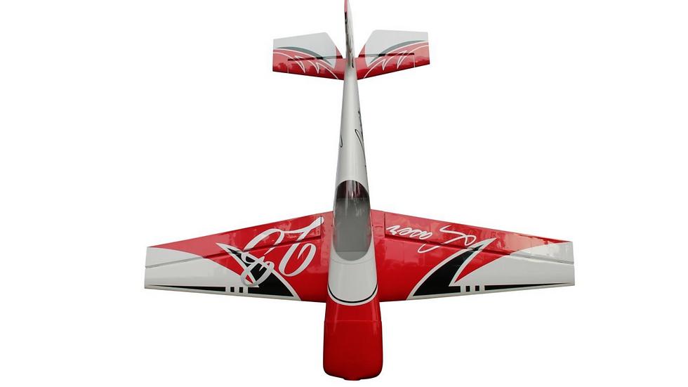 """PILOT LASER 67"""" RED SCHEME"""