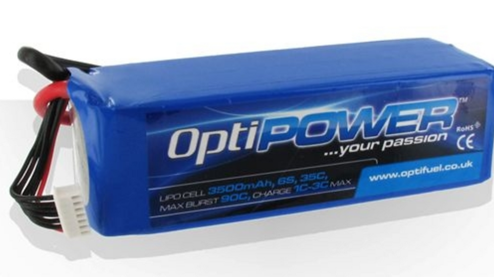 OPTIPOWER LITHIUM CELL 3500 6S