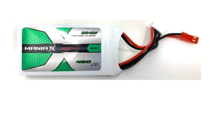 ManiaX 11.1V 450mah 30C : MX450-3S-30