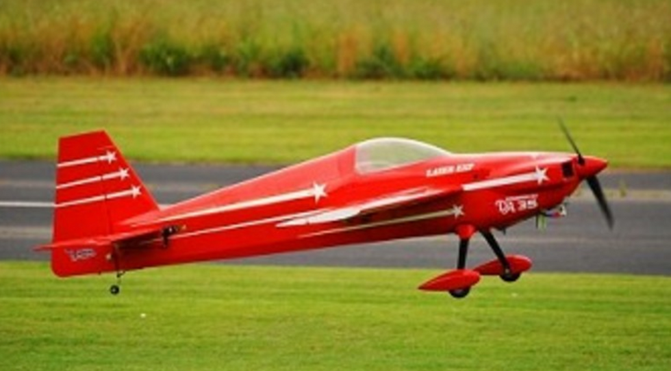 "Laser 74"" V2 ARF kit Red"