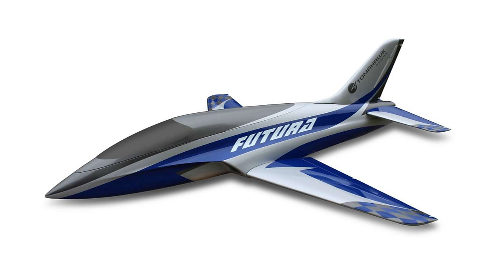 Futura 2,5 full composite kit painted type A blue/silver