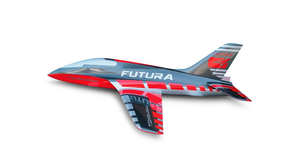 FUTURA 1,9 m full composite kit painted, type G-red, combo with Electron landing