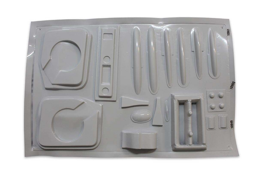 L39 Albatros 2,7m ABS thermo forming parts - standard scale