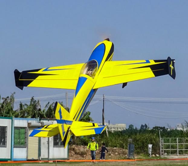 "Slick 580 52"" Yellow ARF kit"