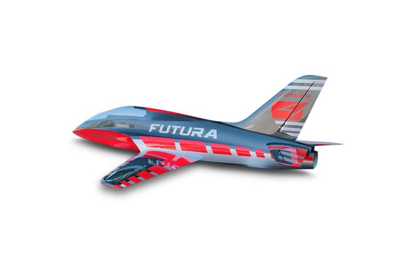 FUTURA 2,5m composite kit painted , type G-red