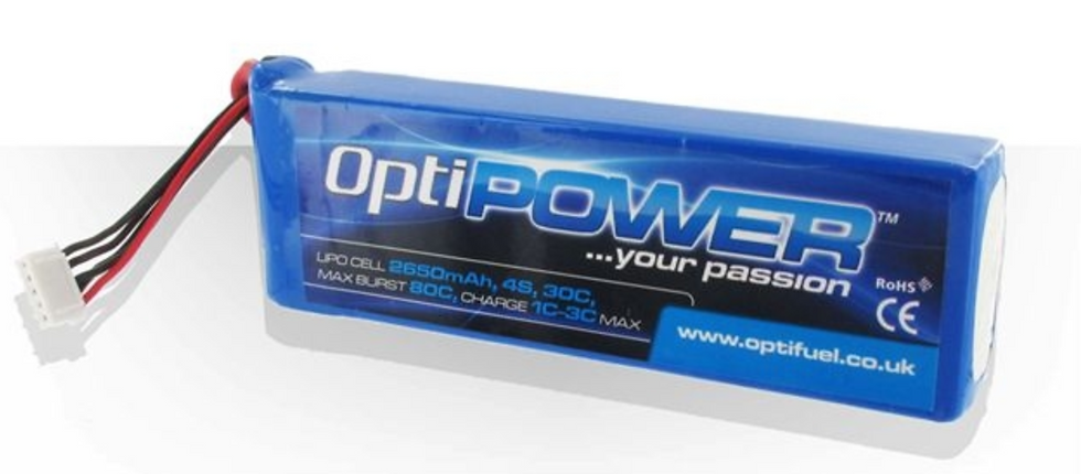 OPTIPOWER LITHIUM CELL 2150 4S