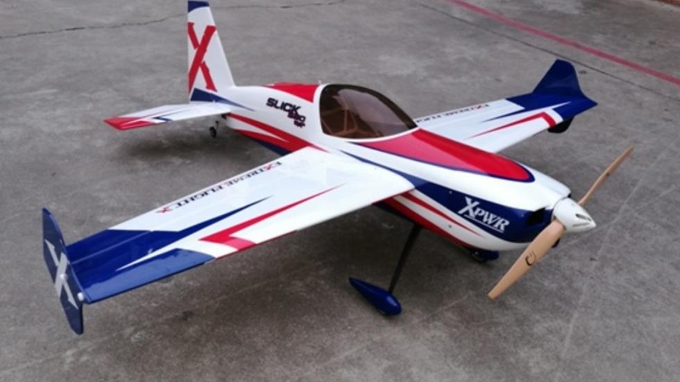 """Slick 580 74"""" White ARF kit"""