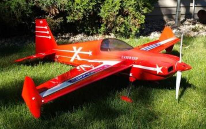 """Extreme Flight  60"""" V2 ARF kit (Red)"""