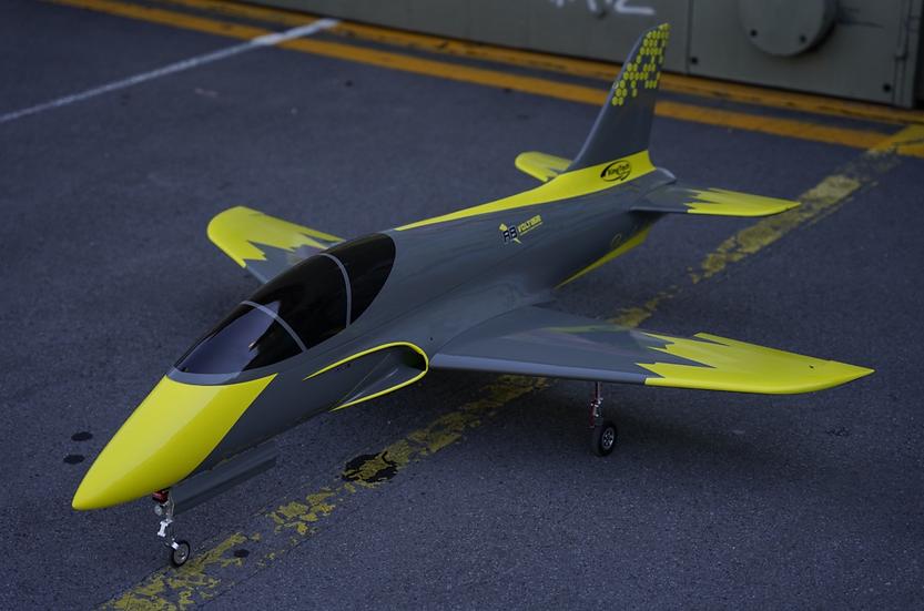 RB-Voltage Diabolus /Jet Cat Combo, Sport-Jet , PnP , 1.50m wingspan