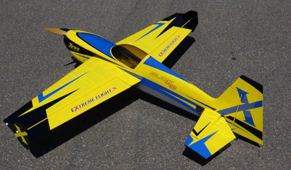"Slick 580 60"" Yellow ARF kit"