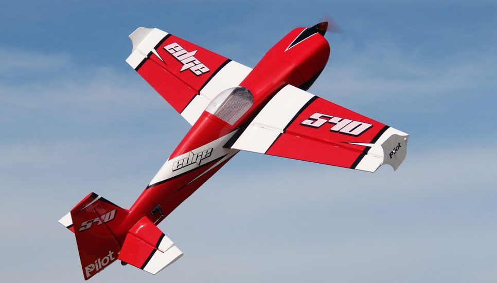 PILOT-RC EDGE-540 74IN (1.88M) (RED/WHITE)