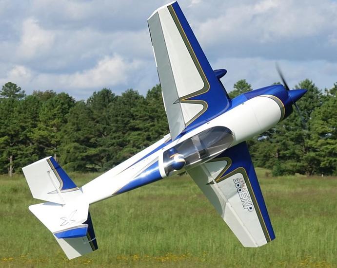 """Extreme Flight Extra 300 91"""" V2 Blue/White"""